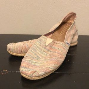 Toms Slip On Canvas Shoes
